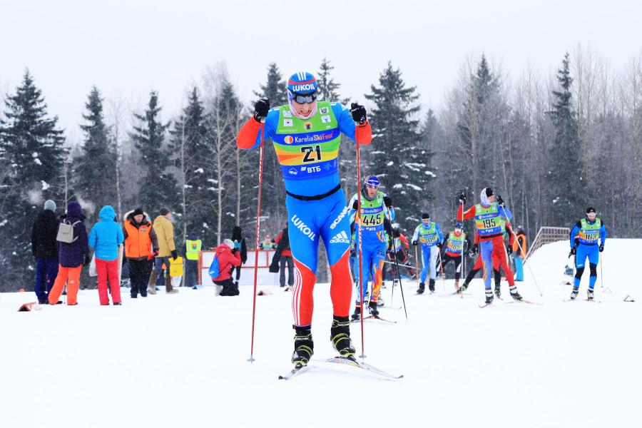 Лыжный марафон в Петрозаводске