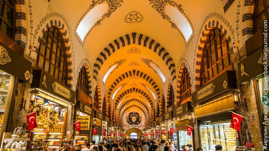 Египетский базар Стамбула