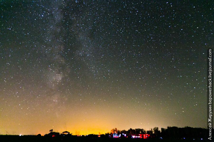 Звездопад Персеиды - самый сильный звездопад в этом году