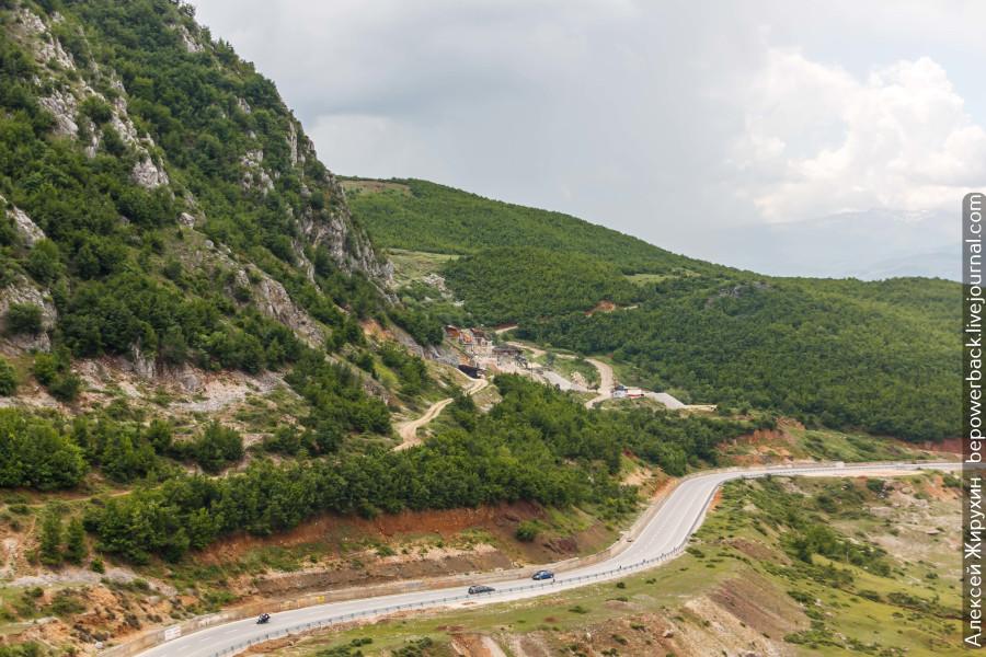 Первое знакомство с Македонией: граница, дороги и цены на топливо -