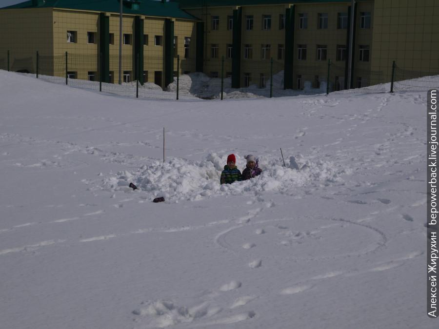 Сугробы Камчатки -