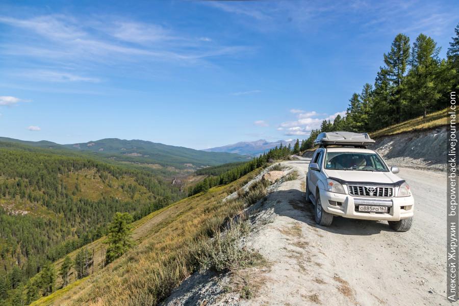Улаганский тракт - дорога на перевал Кату-Ярык