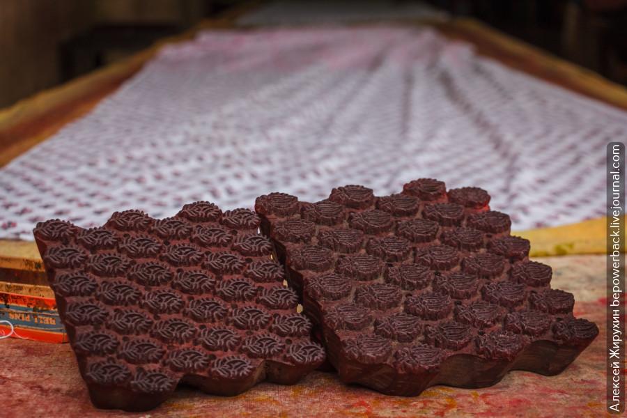 Фиктивная фабрика текстиля в Джайпуре