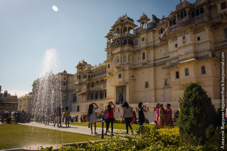 Городской Дворец раджи в Удайпуре