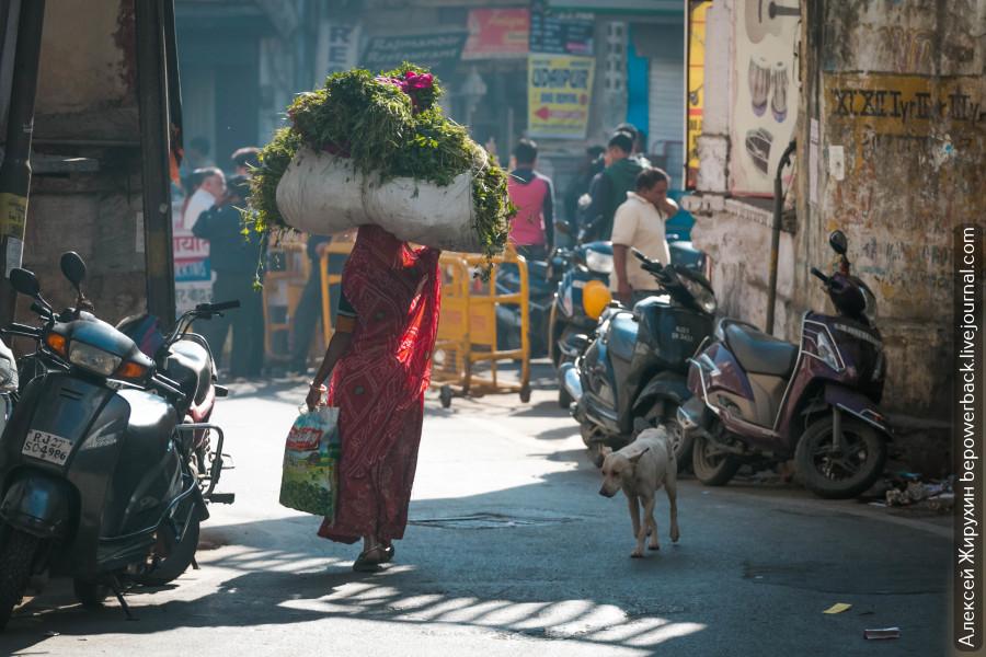 Колоритные улочки старого Удайпура