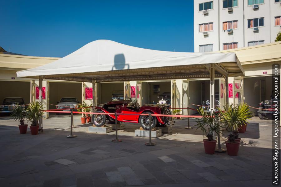 Музей раритетных автомобилей в Удайпуре