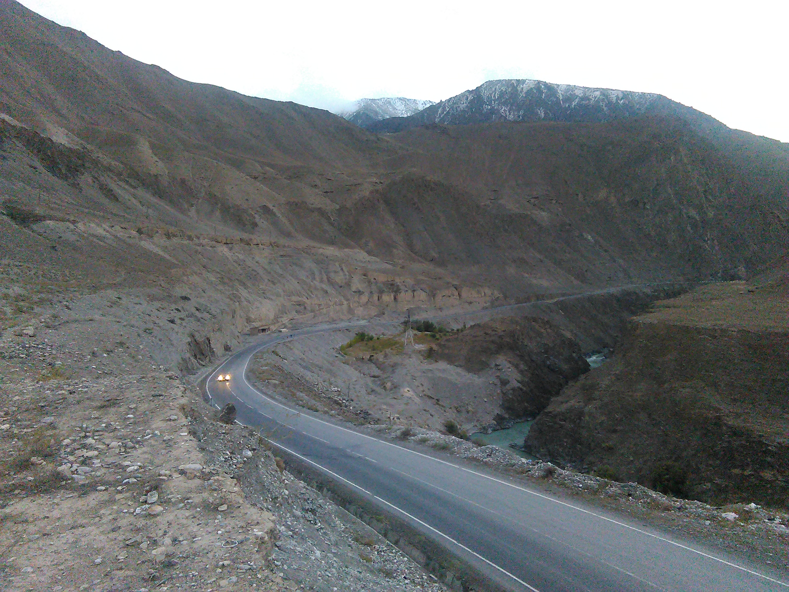 фото перевала в таджикистане может
