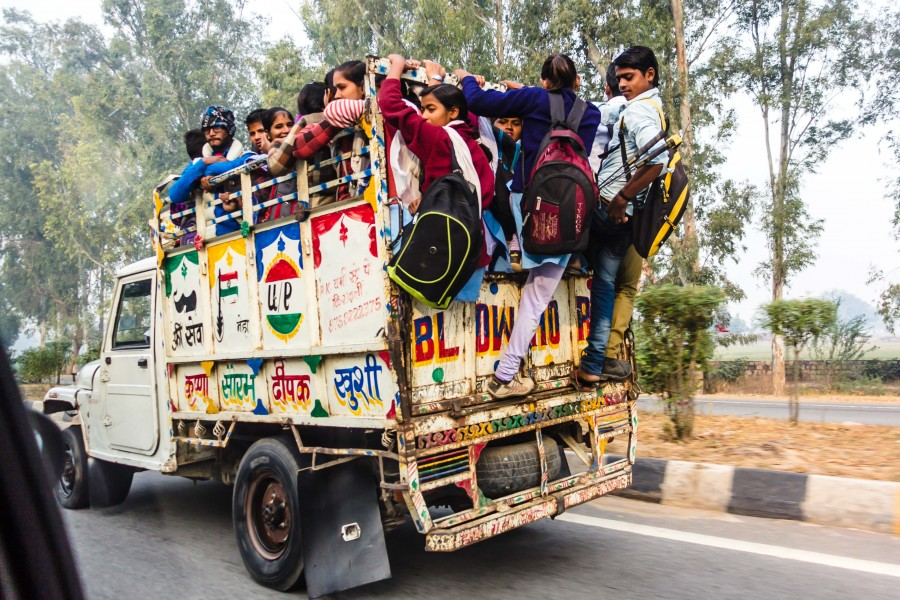 На чем ездят в Индии -  — LiveJournal