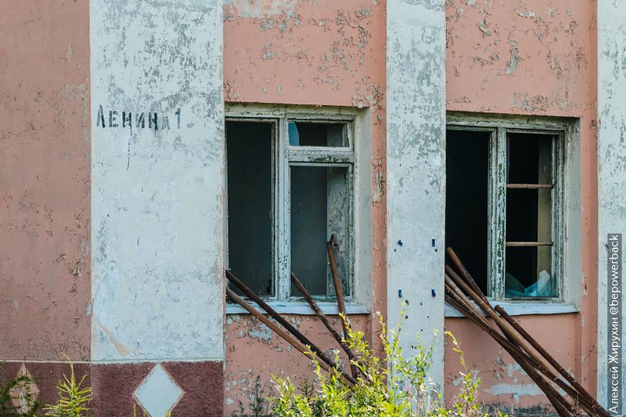 Как мы одни ночевали в мертвом заброшенном городе Кадыкчане