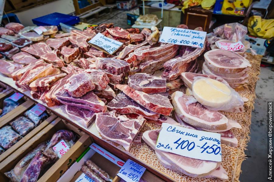 Пришел на хваленый крестьянский рынок в Якутске. Рыба мне оказалась не по