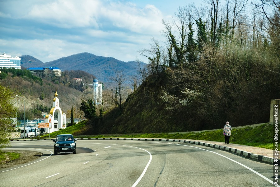 Дорога, которая может испортить весь отпуск. Трасса А147 из Джубги в Сочи