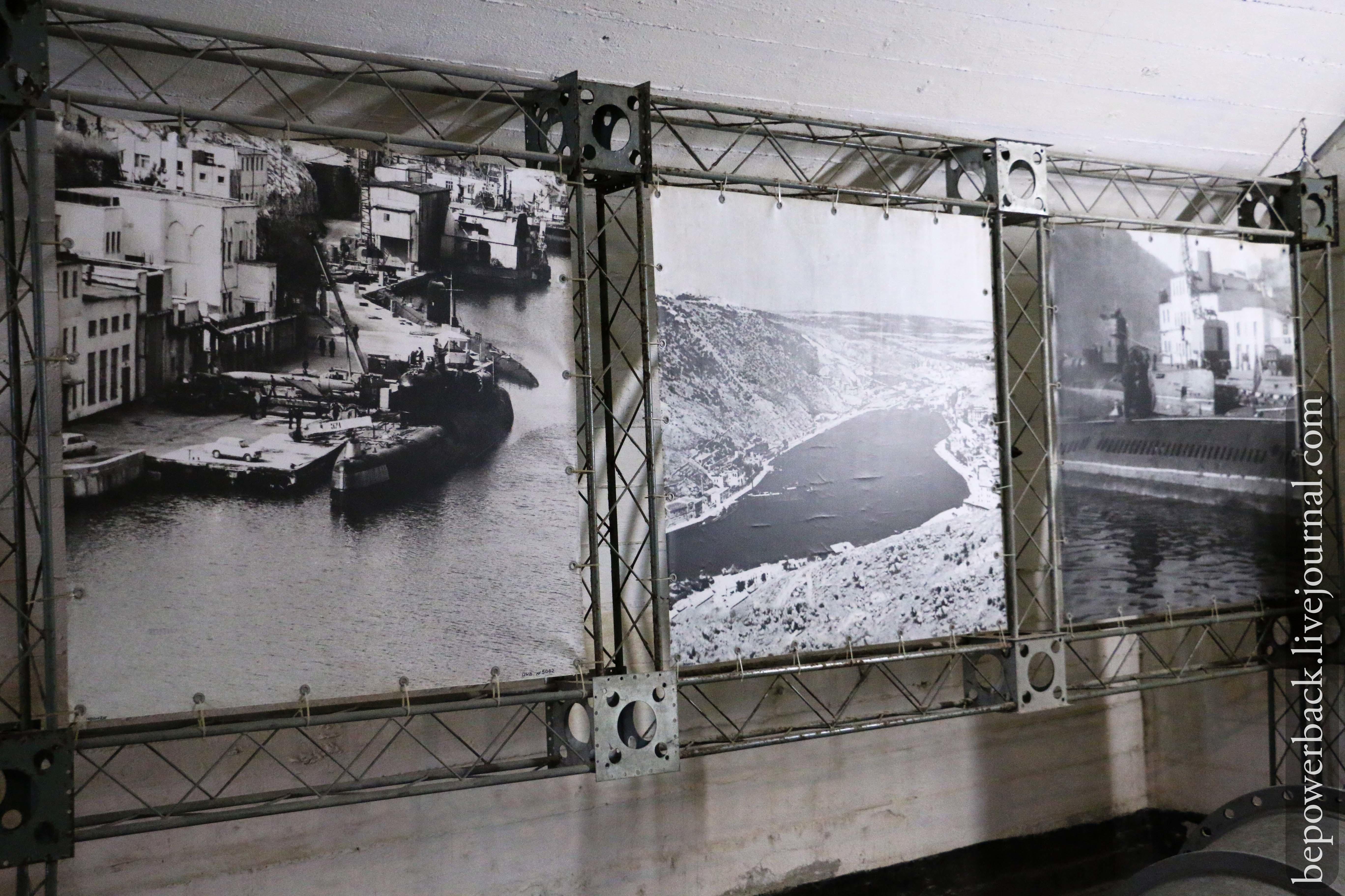 заброшенная база подводных лодок балаклавская бухта