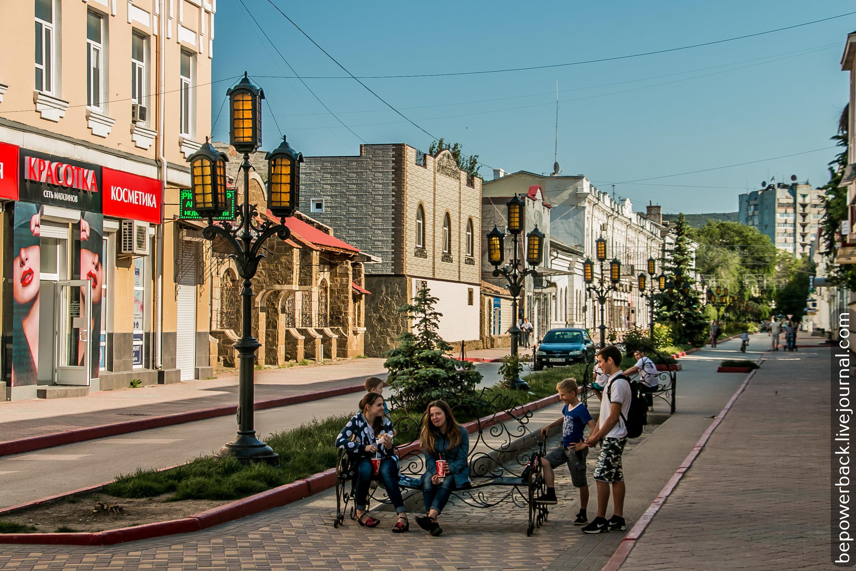 центральная улица феодосии фото себя представляет