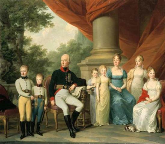 Josef_Kreutzinger_-_Kaiserliche_Familie