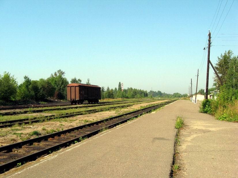 Станция Калязин