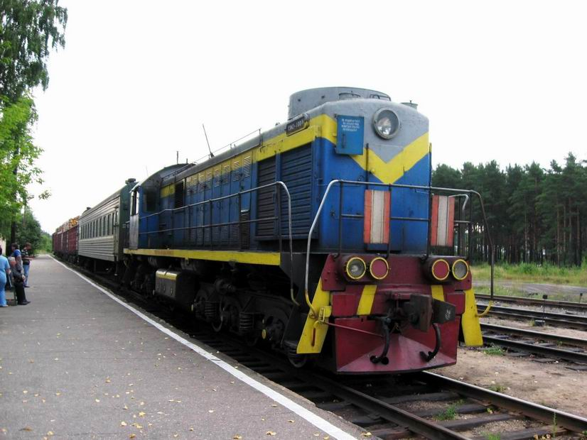 Наш локомотив ТЭМ2