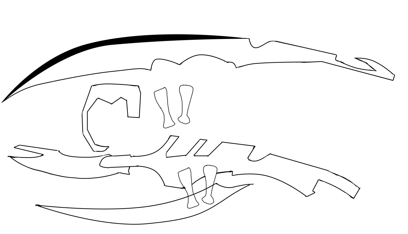 sceptre blade template