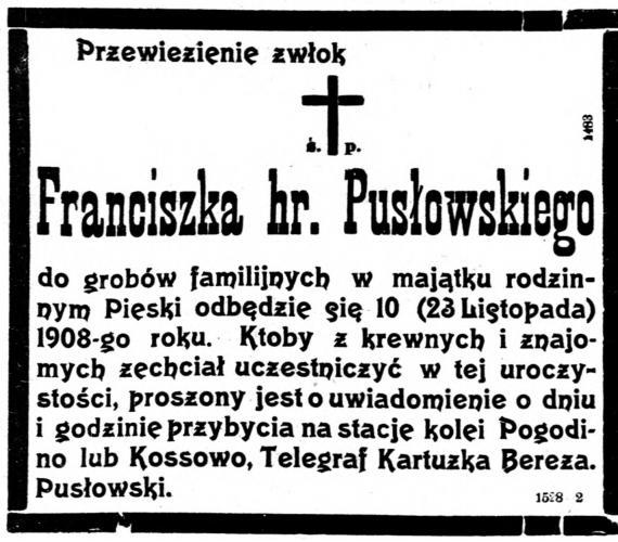 Puslowski Frantiszek