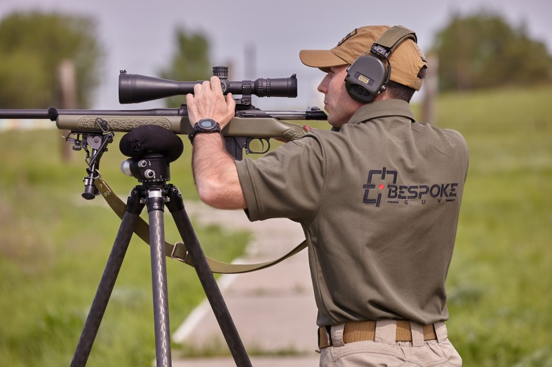 Самый дальний и высокоточный выстрел Bespoke Gun