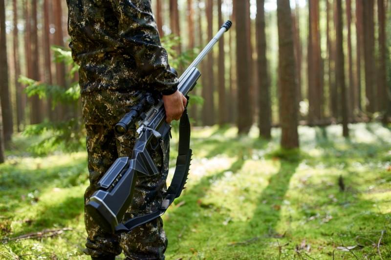 """Высокоточная винтовка """"Фантом Т"""" российского бренда """"Bespoke Gun"""""""
