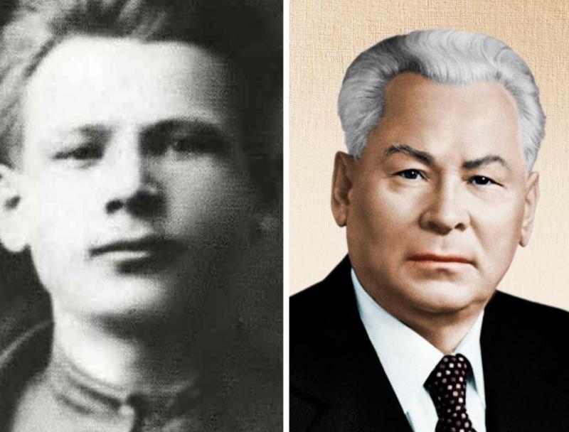 Константин Черненко молодой и генсек