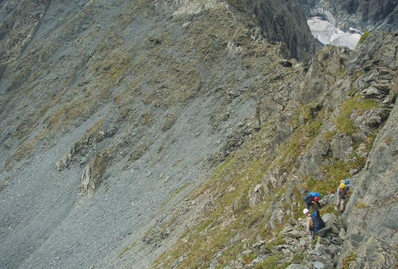 Опасный переход на перевале Куйгук