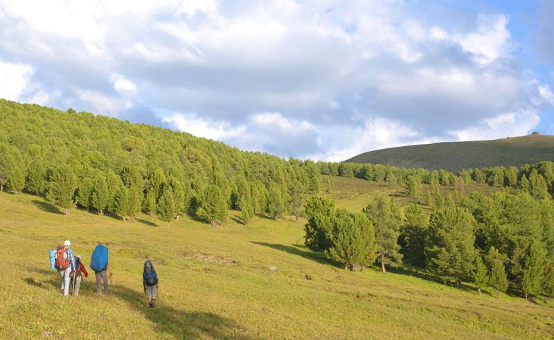 По дороге к перевалу Конный