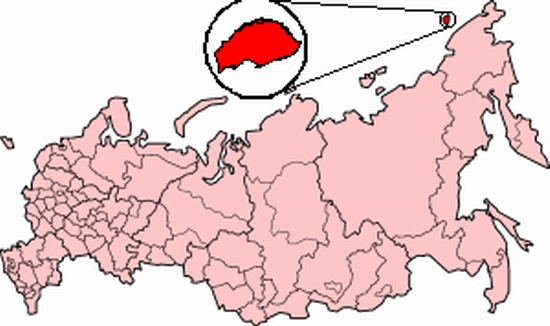 wrangel-island-russia-map-location