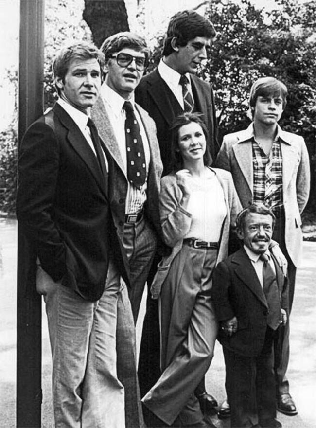 Актеры-фильма-«Звездные-войны»-прямо-перед-началом-съемок