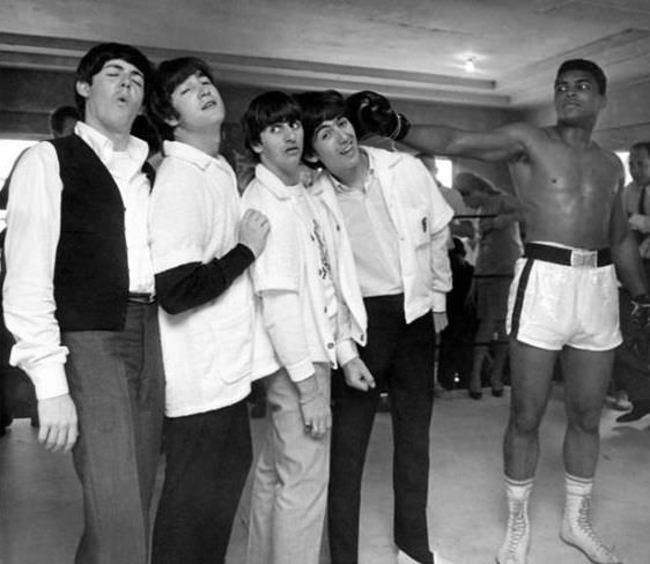 Битлз-и-Али-1964-год