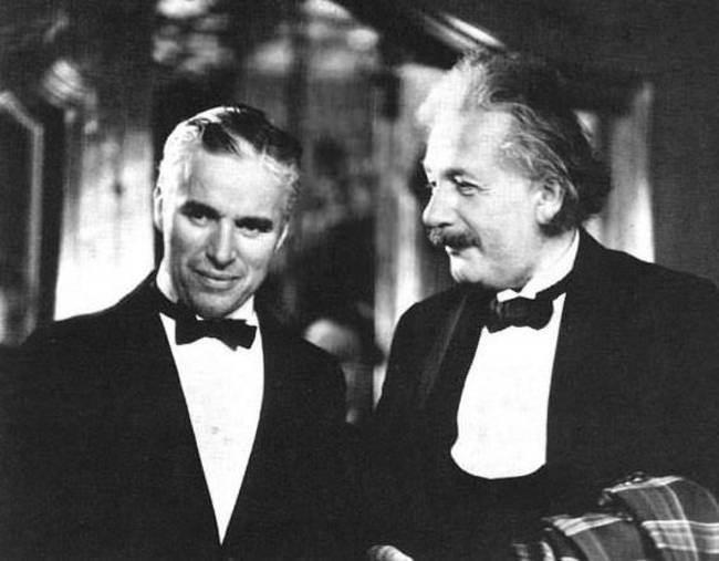 Чарли-Чаплин-и-Альберт-Эйнштейн