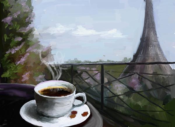 кофе-париж