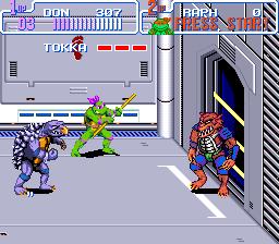 Teenage Mutant Ninja Turtles IV - Turtles in Time (U) [!]011