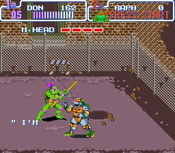 Teenage Mutant Ninja Turtles IV - Turtles in Time (U) [!]008