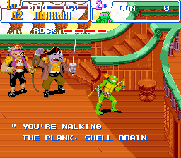 Teenage Mutant Ninja Turtles IV - Turtles in Time (U) [!]023