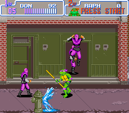 Teenage Mutant Ninja Turtles IV - Turtles in Time (U) [!]007