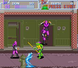 Teenage Mutant Ninja Turtles IV - Turtles in Time (U) [!]007