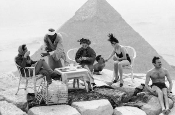 Секс на вершине пирамиды Хеопса (Видео)
