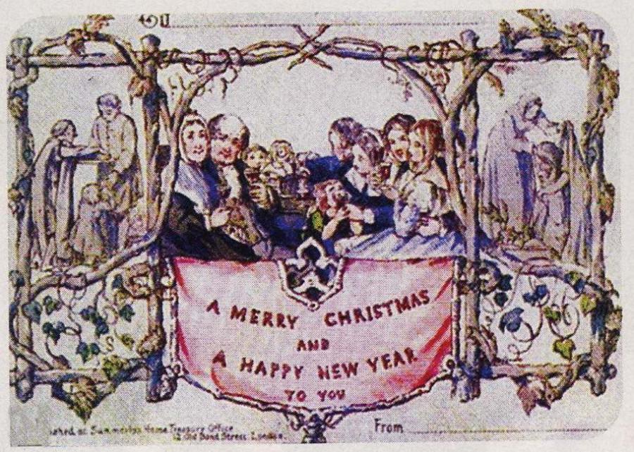 История открытки из англии