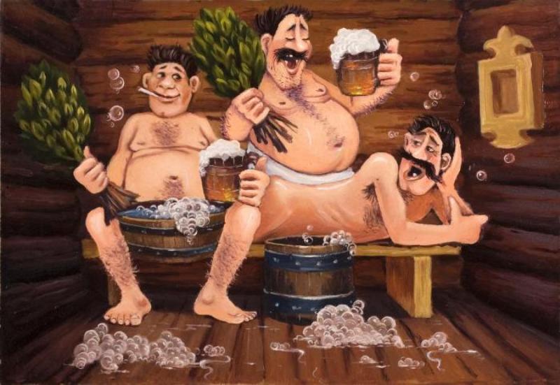 Отдыхаем в бане с женами откровенное фото 793-655