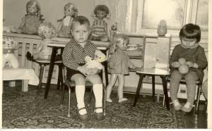 я в яслях 1973