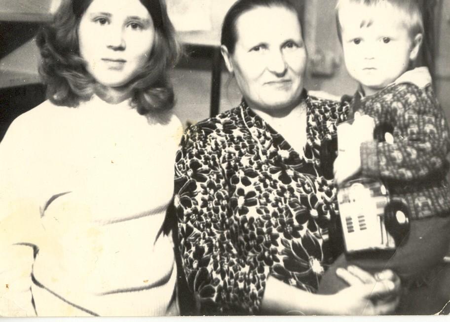 Мама, бабушка и я