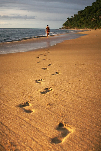 16 juli voetstappen