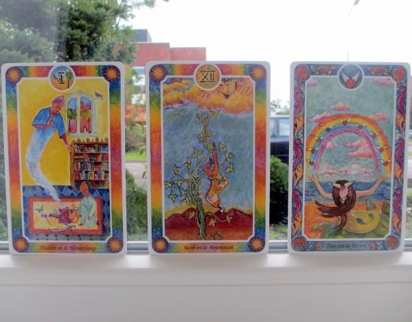 Inner Child Kaarten, Magiër, Gehangene, Tien van Bekers