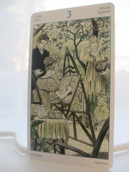 Tarot of Jane Austen, 3 van pentakels