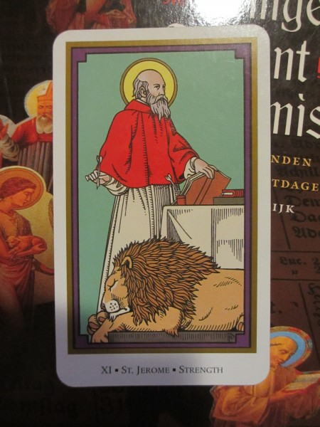 Tarot of Saints, Strength