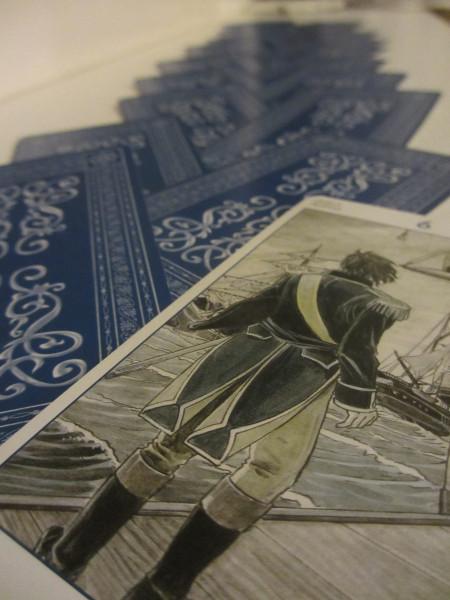 6 van zwaarden Tarot of Jane Austen