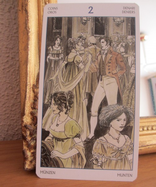 Tarot of Jane Austen, 2 pentakels