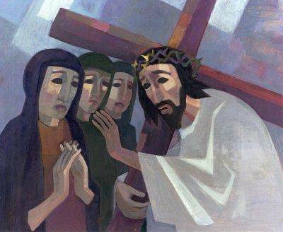 8_Jezus_ontmoet_de_vrouwen_van_Jeruzalem_kerkgebouwen_in_Limburg
