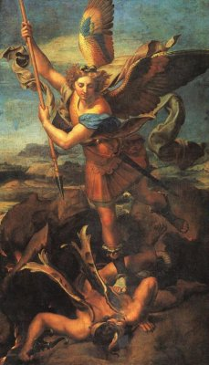 st_michael_trampling_the_dragon_raphael_1